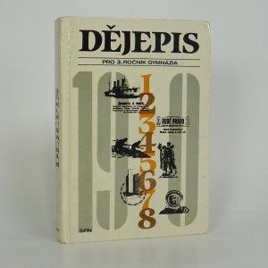náhled knihy - Dějepis pro 3. ročník gymnázia