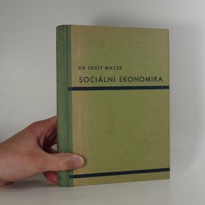 náhled knihy - Sociální ekonomika. Část I., II. a III. (1 svazek).