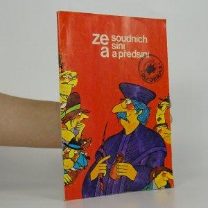 náhled knihy - Ze soudních síní a předsíní (Magazín Dikobrazu)