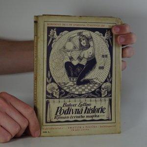 náhled knihy - Podivná historie. Román černého magika. Díl 1.