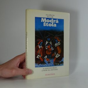 náhled knihy - Modrá štola a jiné pověsti z hor na severu