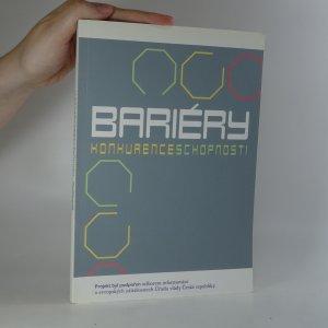 náhled knihy - Bariéry konkurenceschopnosti