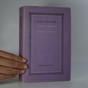 náhled knihy - Bláznova obhajoba; Manželské historie