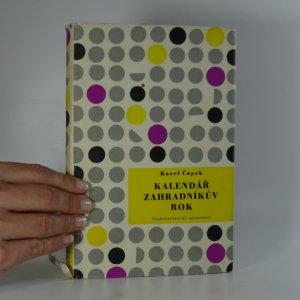 náhled knihy - Kalendář; Zahradníkův rok