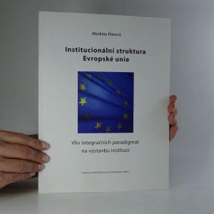 náhled knihy - Institucionální struktura Evropské unie