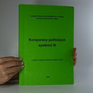 náhled knihy - Komparace politických systémů III.