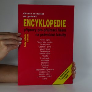 náhled knihy - Encyklopedie přípravy pro přijímací řízení na právnické fakulty