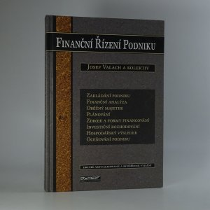 náhled knihy - Finanční řízení podniku