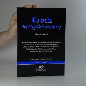 náhled knihy - Krach evropské ústavy