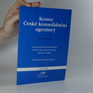 náhled knihy - Konec České konsolidační agentury