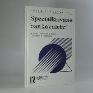 náhled knihy - Specializované bankovnictví