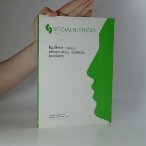 náhled knihy - Sociální studia. Rozšířená Evropa: předpoklady, důsledky, problémy (1/2004)