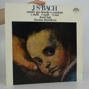 náhled knihy - J. S. Bach: Sonáta c moll, Sonáta f moll, Sonáta G dur