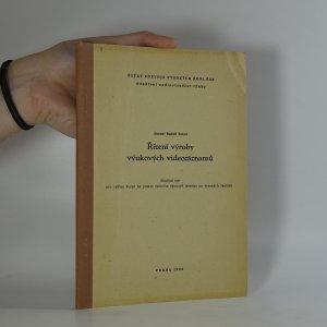 náhled knihy - Řízení výroby výukových videozáznamů