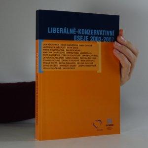 náhled knihy - Liberálně-konzervativní eseje 2003-2007