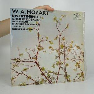 náhled knihy - W. A. Mozart: Divertimenti