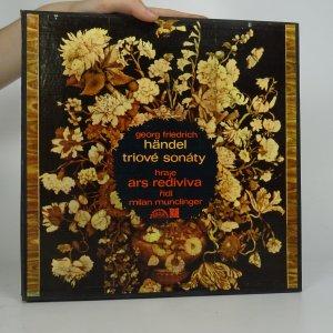 náhled knihy - Georg Friedrich Händel: Triové sonáty (3x LP)
