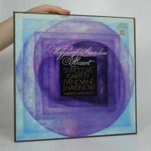 náhled knihy - W. A. Mozart: Smyčcové kvartety (3x LP)