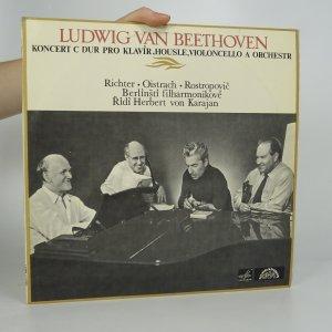 náhled knihy - Ludwig van Beethoven: Koncert c dur pro klavír, housle, violoncello a orchestr