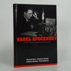 náhled knihy - Karel Opočenský. První český šachový profesionál.