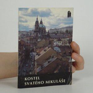 náhled knihy - Kostel svatého Mikuláše