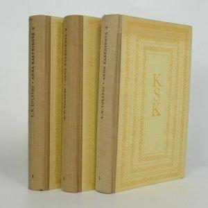 náhled knihy - Anna Kareninová (1. - 3. díl)