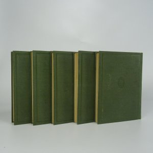 antikvární kniha Dílo Jana Nerudy I-XXV. (25 svazků), 1923-1925