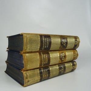 antikvární kniha Masarykův slovník naučný Díl 1.-7. (7 svazků, komplet), 1925-1933