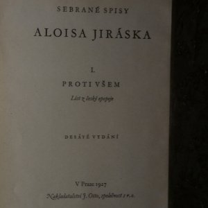 antikvární kniha Spisy Aloise Jiráska I.-XI., XV. (12 svazků), 1927, 1928,