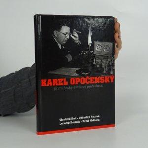 náhled knihy - Karel Opočenský - první český šachový profesionál