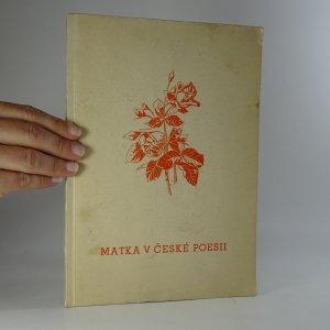 náhled knihy - Matka v české poesii