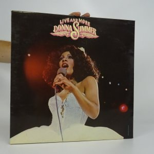 náhled knihy - Donna Summer: Live And More (2x LP)