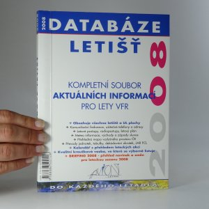 náhled knihy - Databáze letišť 2008. Kompletní soubor aktuálních informací pro lety VFR.