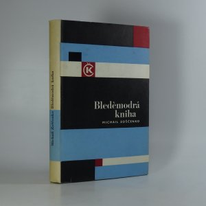 náhled knihy - Bleděmodrá kniha
