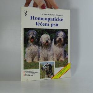 náhled knihy - Homeopatické léčení psů