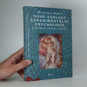 náhled knihy - Nové základy experimentální psychologie