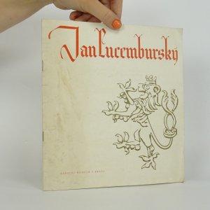 náhled knihy - Jan Lucemburský