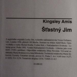 antikvární kniha Šťastný Jim, 1992