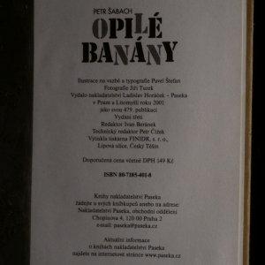 antikvární kniha Opilé banány, 2001