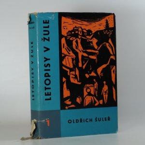 náhled knihy - Letopisy v žule I.