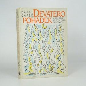 náhled knihy - Devatero pohádek a ještě jedna od Josefa Čapka jako přívažek