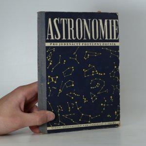 náhled knihy - Astronomie pro jedenáctý postupný ročník