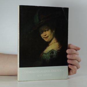 náhled knihy - Gemäldegalerie Dresden alte meister