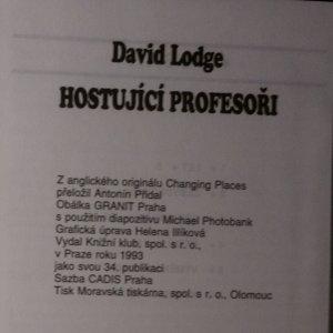 antikvární kniha Hostující profesoři, 1993