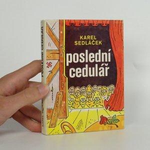náhled knihy - Poslední cedulář