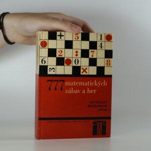 náhled knihy - 777 matematických zábav a her