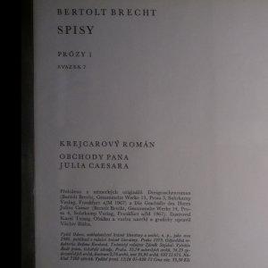 antikvární kniha Krejcarový román. Obchody pana Julia Caesara, 1973