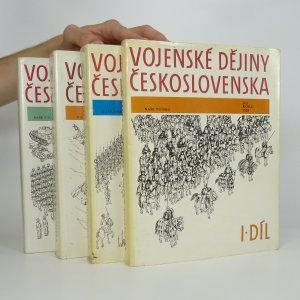 náhled knihy - Vojenské dějiny Československa, I., II., IV. a V. díl (4 svazky)