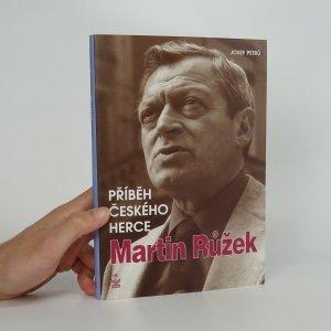 náhled knihy - Martin Růžek: příběh českého herce