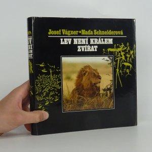 náhled knihy - Lev není králem zvířat